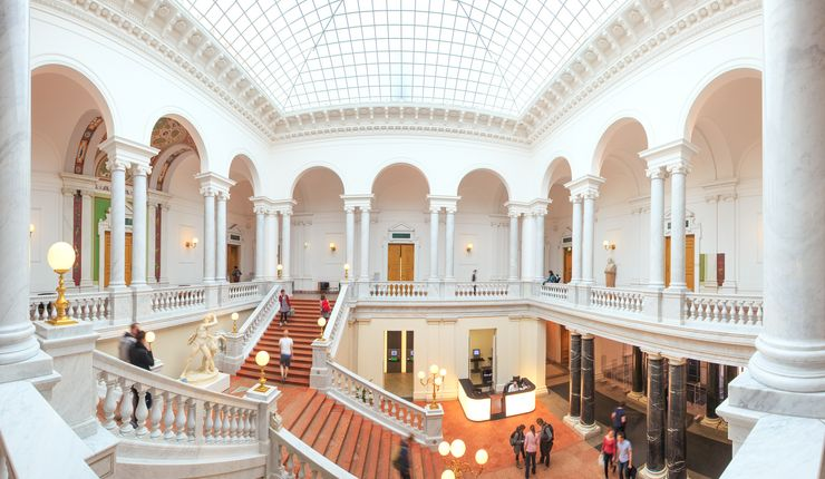 A Picture of the University Library, Photo: Leipzig University