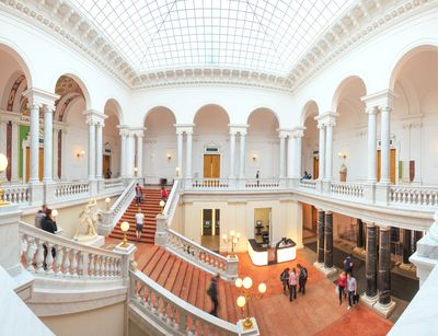 Picture of University Library, Photo: Leipzig University